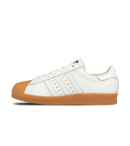Superstar 80s DLX White Gum