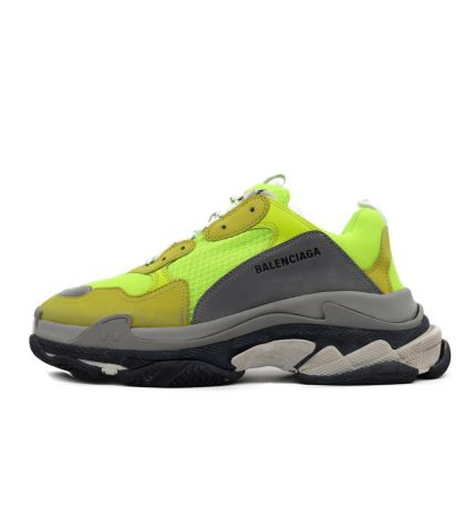 Triple S Trainers-Neon Yellow