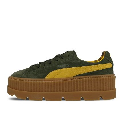 Fenty Cleated Creeper Suede-GreenYellow