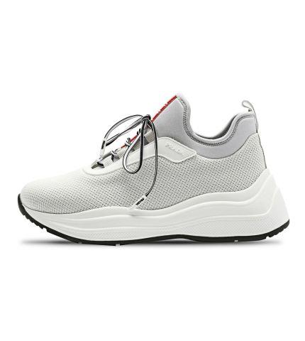 Mesh Sneakers-White