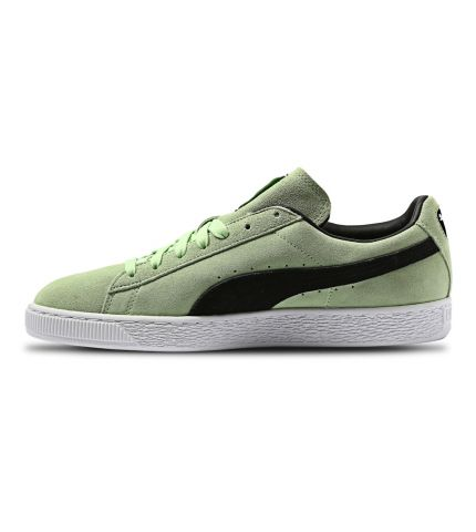 Suede Classic-Green/White