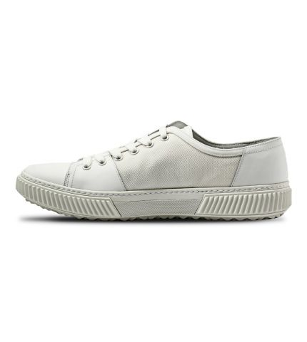 Bianco Leather Sneakers-White